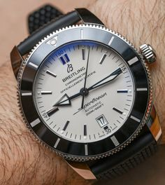 Breitling Superocean Heritage Generation I Versus II Watch Review Wrist  Time Reviews a88a4a0454