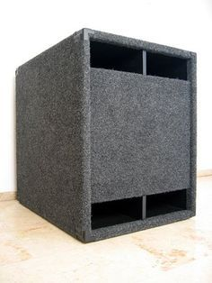 Homemade Speakers, Diy Speakers, Subwoofer Box Design, Speaker Box Design, Speaker Plans, Audio Amplifier, Car Audio, Wood Projects, Outdoor Decor