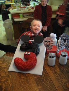 Ethan's Mickey Mouse Party- Mickey Mouse cake