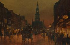 Arthur E Grimshaw - The Strand (1899)