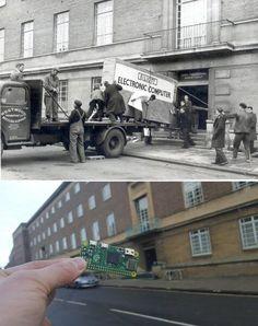 Компьютер 58 лет спустя/Computer 58 years later