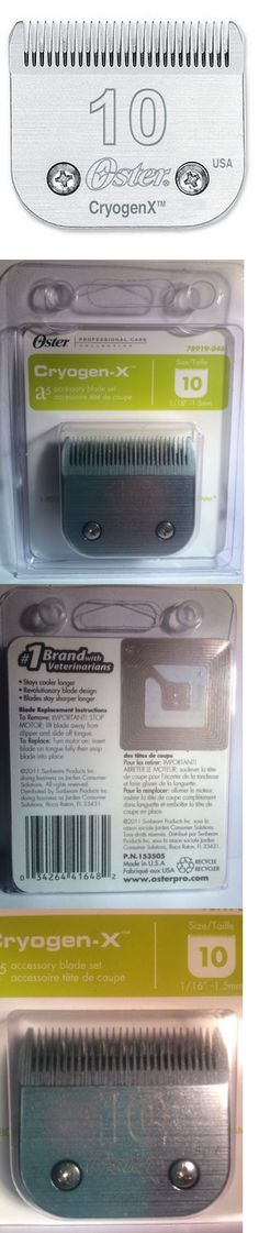 Clipper and Trimmer Parts: Oster A-5 #10 Cryogen-X Clipper Blade #78919-046 -> BUY IT NOW ONLY: $119.9 on eBay!