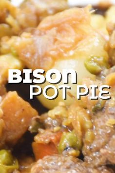 This week I teamed up with Great Range Bison to make this incredibly simple bison pot pie - made with bison stew meat, puff pastry and stuffed with veggies and hashbrowns, there's no way you're not getting a second serving. #ad #greatrangebison #bison #bisonrecipe #bisonmeat