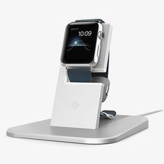Apple Watch Stand - Silver by Twelve South #MONOQI