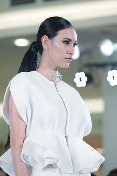 ATRIUM INDONESIA FASHION FORWARD SHOW Atrium, Fashion Forward, Ruffle Blouse, Modern, Tops, In Trend, Trendy Tree