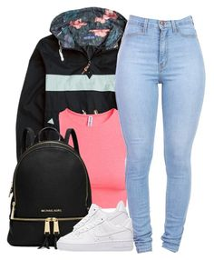 """III ♡ XXVI ♡ MMXVI"" by justice-ellis ❤ liked on Polyvore featuring H&M, Michael Kors and NIKE"