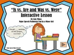 A no print interactive lesson/activity on subject-verb agreement! You can use this on a computer,iPad, smartboard or any device that displays a PDF. No printing required!