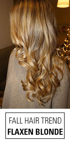 Need a beautiful blonde hair color idea for fall and winter? Check out this Flaxen Blonde Colormelt!