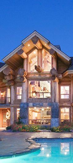 Timber Kings | Pioneer Log Homes | #loghomes #logcabins #loghomeliving #logcabinhomes
