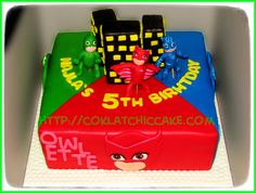 Cake PJ MASK F