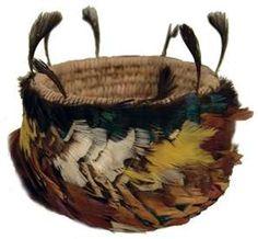 BASKET   Pretty arty basket, a tisket a tasket   Pomo