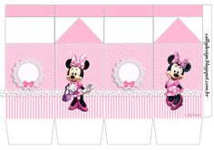 Caixa Minnie Rosa - Roommates Disney Minnie Bow-tique Wall Sticker Informations About Caixa Minnie R Minnie Mouse Balloons, Red Minnie Mouse, Minnie Mouse 1st Birthday, Girl Birthday Themes, Pink Birthday, Printable Box, Minnie Mouse Drawing, Mickey Mouse Clipart, Minnie Baby