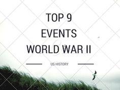 This is a great one day in class assignment or follow up assignment to a World War II unit. The assignment goes through the top 9 events having the students do a little research into each event. The assignment is very thorough as it gets down to the big questions for each event.