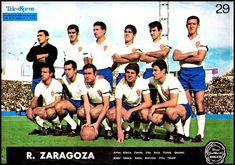 Equipos de fútbol: REAL ZARAGOZA contra Barcelona 10/09/1967