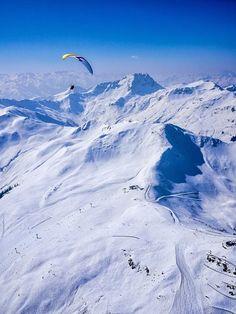 paragliding from Zwölferkogel in #Hinterglemm- Austria