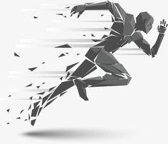 Creative Poster Design, Creative Posters, Runner Tattoo, Running Drawing, Sport Tattoos, Sports Graphic Design, Sports Art, Figure Drawing, Line Art