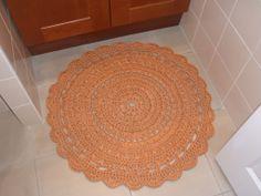 Alfombra crochet zpaguetti