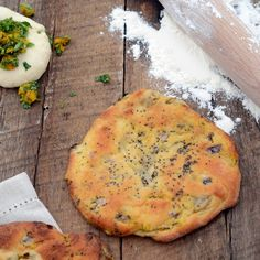 A Brown Table - Every Meal Should Be Simple but Exciting: pumpkin stuffed naans