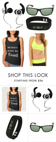 """""""active wear"""" by laila-omar on Polyvore featuring Monster, Supersonic, Ray-Ban and Fashion Club USA"""