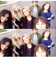 Shay, Ashley, Sasha, Tyler, Lucy and Troian