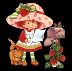 .: Strawberry Shortcake and the gang