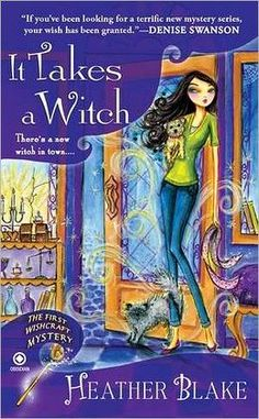 """set in the Enchanted Village, a picturesque Salem, Mass., neighborhood that's secretly the home to Wishcrafters, witches with the power to grant wishes (with certain restrictions). A sudden rise in crime—in particular, the murder of Alexandra Shively, a publicity seeker who claimed to be a Craft """"high priestess""""—has the community worried about the impact on the tourist trade. Suspicion falls on Sylar Dewitt, the owner of Third Eye Optometry, who was caught kneeling over Alexandra's strangled…"""