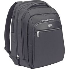 """16"""" BLACK CHECKPOINT-FRIENDLY NOTEBOOK BACKPACK"""