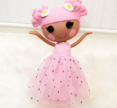 Lalaloopsy Doll Clothes Girl  Party Valentine Dress.