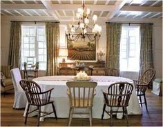 English Country Dining Rooms On Pinterest English