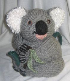 Koala Tea Cosy KNITTING PATTERN  downloadable file by RianAnderson, $4.50