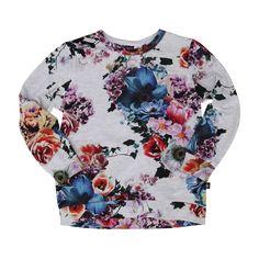 Molo Reba Floral Top   Molo   Designer Kids Clothes £34.95 Looks fabulous with the Prune Tutu skirt  Molo Spring Summer 2015 Pre-Collection