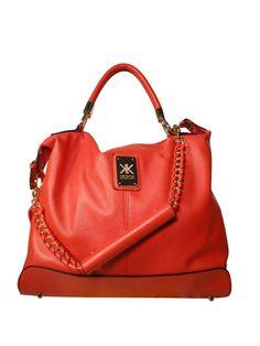 Kk Kardashian Kollection C Colour Block Slouch Handbag