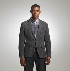 Stretch Tweed Blazer. Kenneth Cole Collection.