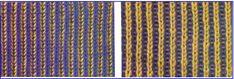 Вязание бриошь