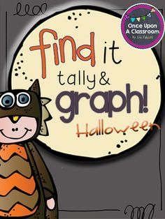 Spiderwebs, trick-or-treaters and candy oh my! Your kids will love getting into the Halloween spirit with this fun tallying, graphing, simple addi. First Grade Lessons, Math Lessons, First Grade Math, Second Grade, Kindergarten Math, Preschool, Halloween Math, Teaching Resources, Teaching Ideas
