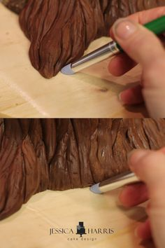 Free tree cake tutorial from Jessica Harris Cake Designs.
