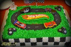 Nothing completes a Hot Wheels themed birthday party like a Hot Wheels cake.    If your little racer is into Hot Wheels, then a Hot Wheels b...