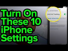 10 iPhone Settings You Need To Turn On Now - YouTube Life Hacks Computer, Iphone Life Hacks, Computer Help, Computer Tips, Cell Phone Hacks, Smartphone Hacks, Galaxy Smartphone, Ipad Hacks, Tv Hacks