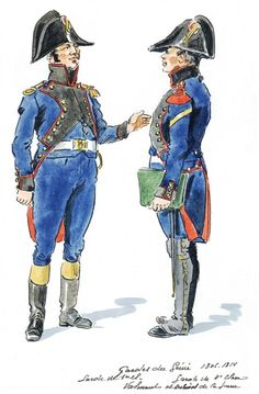 French; Imperial Corps of Engineers, 1st Class Engineer Guard & 2nd Class Engineer Guard, 1805-14