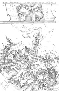 Darksiders 4-pencil by LudoLullabi.deviantart.com on @deviantART