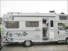 Amazing Camper Paint Exterior Remodel Makeover, After you decide which exterior paint is most effective for you, you will need to choose a kind of finish. Instead, exterior paint becomes hassled by . Cool Campers, Rv Campers, Camper Trailers, Shasta Camper, Tiny Camper, Station Wagon, Peugeot, Vw Lt, Class C Rv