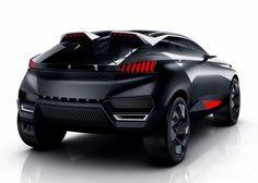 Peugeot Quartz Concept - Una Crossover Ibrida