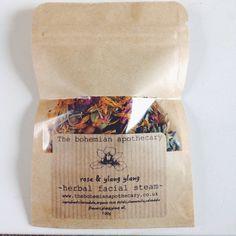 Image of Ròse petal herbal facial steam