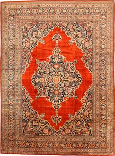 View this beautiful antique Persian Silk Tabriz rug from Nazmiyal's fine antique rugs and decorative carpet collection in NYC. Persian Carpet, Persian Rug, Textiles, Main Image, Shaw Carpet, Tabriz Rug, Cheap Carpet Runners, Modern Carpet, Dark Carpet