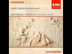 Ernest Chausson - La Légende De Sainte Cécile Et La Tempête - YouTube