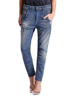 Boyfriend Diesel FAYZA JOGGJEANS 0604N - Diesel Official Online Store Feminine Style, Boyfriend Jeans, Blue Jeans, Must Haves, Diesel, Skinny Jeans, Denim, Pants, Shopping