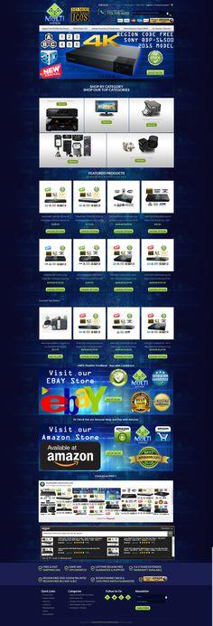 EFusionWorld Offer Worldleading Custom And Professional EBay - Create ebay store template