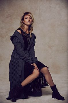 free people holiday6 Martha Hunt Charms in Free Peoples Holiday 2013 Shoot