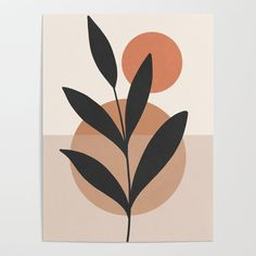 Buy Abstract Minimal -Plant 7 Poster by thindesign. Worldwide shipping available at Society6.com. Just one of millions of high quality products available.