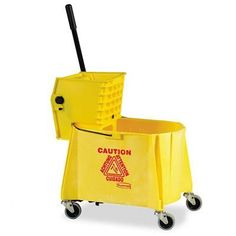 Rubbermaid Commercial FG627777 Yellow Safety Cone with Multi-Lingual Caution and Wet Floor Imprint (Case of 6)